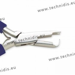 Clip on nose pad removing plier - Comfort