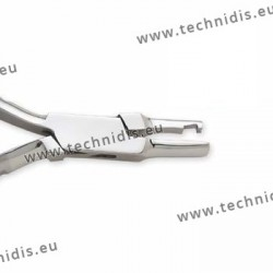 Plier for adjusting screw on nose pads - Standard