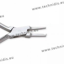 Pad ajusting plier with narrow jaws - Standard