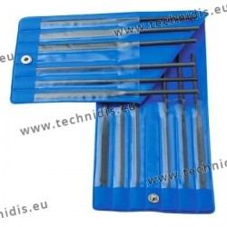 Set of 12 needle files