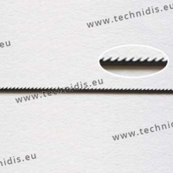 Flat saw blades for metal
