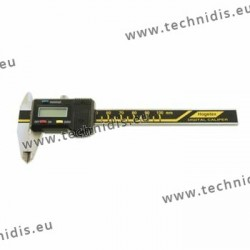 Digital sliding caliper - 1/100 deg - 150 mm