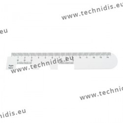 Optician ruler (C type)