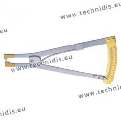 Outil pour mesurer l'épaisseur des verres