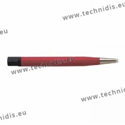 Scratch-brush, glass fiber wires