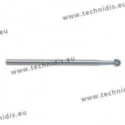 Round tool steel cutter diameter 2.5 mm