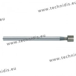 Cylindrical tool steel cutter diameter 4.0 mm
