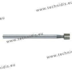 Fraise en acier outil cylindrique Ø 4,0 mm