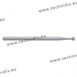 Fraise en acier outil cuvette Ø 1,8 mm