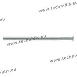 Fraise en acier outil scie Ø 2,3 x 0,2 mm