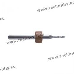 Fraise au carbure de tungstène Ø 0,9 mm