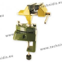 Precise mechanical bench vice