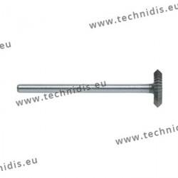 Biconical disc cutter - dia. 6.0 mm