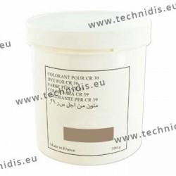 Colorant en poudre brun rose - Pot de 500 g
