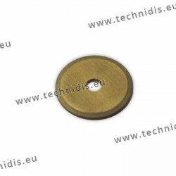Meulette diamantée épaisseur 0,55 mm