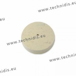 Hard felt wheel, diameter 102 mm