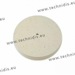 Hard felt wheel, diameter 152 mm