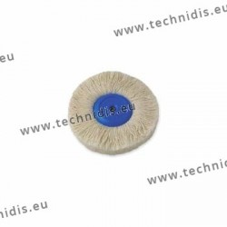 Cotton yarn brush, plastic center, diameter 95 mm