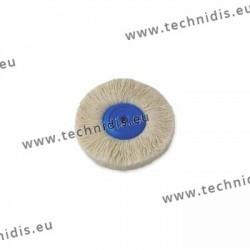 Disque fils coton, centre plastique, Ø 95 mm