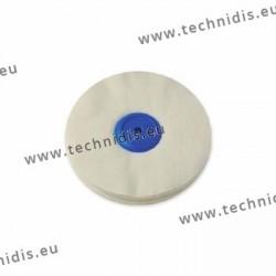 Disque flanelle, centre plastique, Ø 125 mm