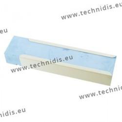 Composition à polir bleue avec gaine métal