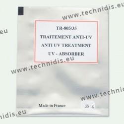 Traitement anti-UV en poudre