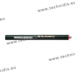 Stylo couleur chrome