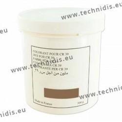 Colorant en poudre brun - Pot de 500 g