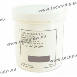 Colorant en poudre gris neutre - Pot de 500 g