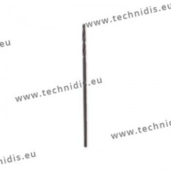 Forets hélicoïdaux standard Ø 0,8  mm