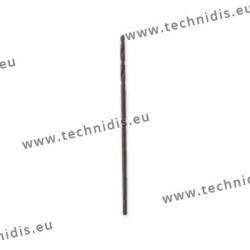 Standard twist drill bits diameter 1.0 mm