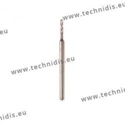 Forets hélicoïdaux renforcés Ø 0,5 mm