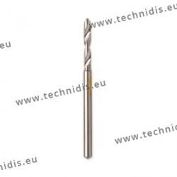 Twist drill bits diameter 0.9 mm