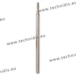 Foret diamanté hélicoïdal Ø 1,8 mm