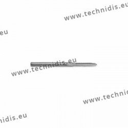 Tap with cylindrical shaft ''best'' diameter 1.0 mm