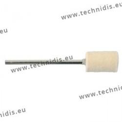 Brossette cylindrique