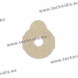 Pastilles autocollantes rondes - 24 mm
