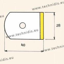 Films antitorsion pour verres traités - grande taille