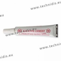 Liquid silicone cement