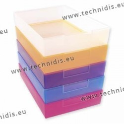 Job trays - crystal - 240 x 167 x 49 mm