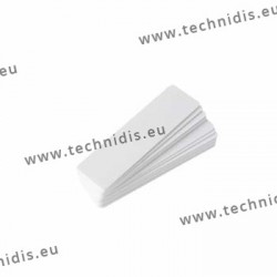 Laminated labels for job trays PE-240/10 to PE-244/10