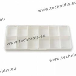 Boîte rectangulaire 12 cases