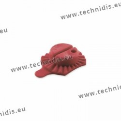 Red universal block Weco system - 25 x 20 mm