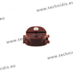 Bloc universel système Essilor - 14x18 mm