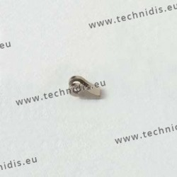 Charnière à souder - Elément face - 0,9 mm