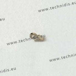 Charnière à souder - Elément branche - 1,2 mm
