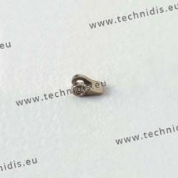 Charnière à souder - Elément face - 1,2 mm