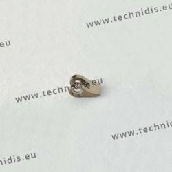 Charnière à souder - Elément face - 1,4 mm
