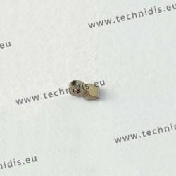 Charnière à souder - Elément branche - 1,8 mm