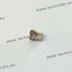 Charnière à souder - Elément face - 1,8 mm